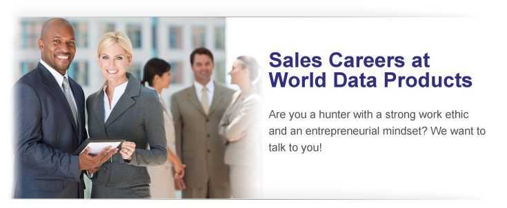 Sales Careers at World Data Products
