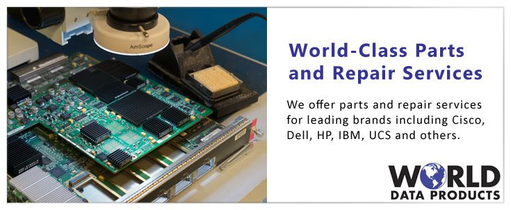 World Data Products offers quality parts and repair services for used servers, storage and networking equipment.