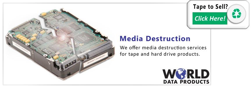 tape media destruction