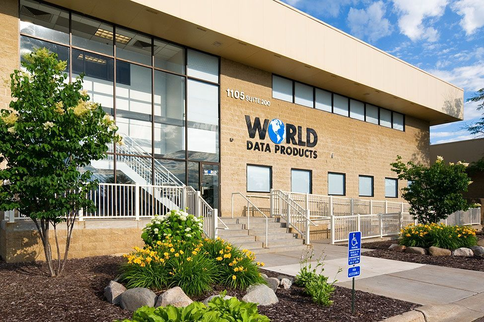World Data Products Building Exterior